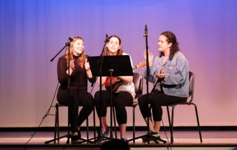 Schreiber students participate in annual Shakespeare Day