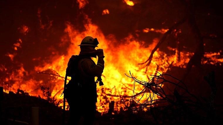 Record Breaking Wildfires Ravage Across West Coast States