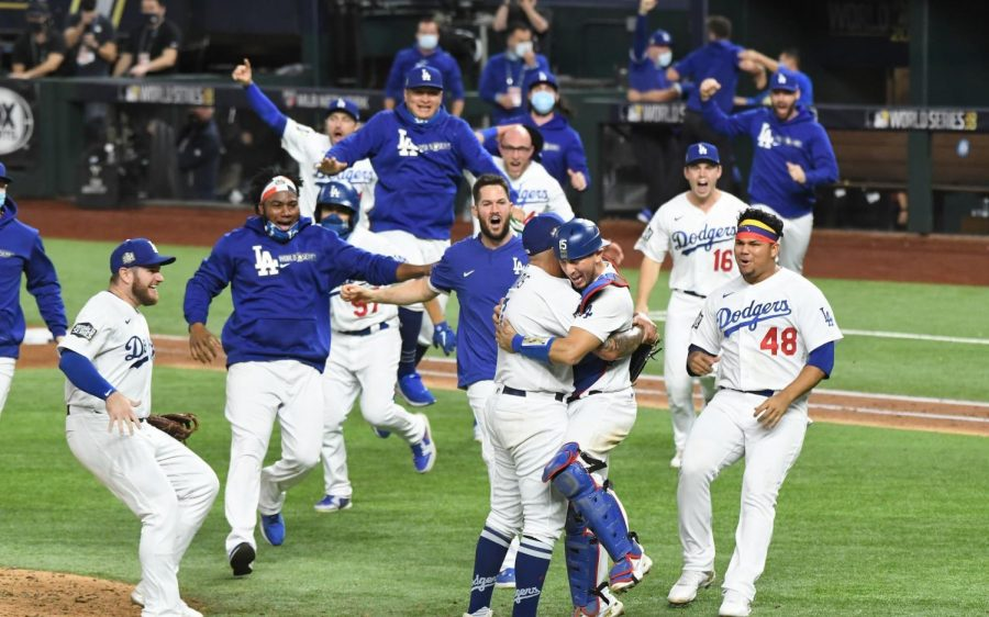 Dodgers+Finish+Off+Rays+In+Six+Games+To+Win+Their+First+Championship+In+Thirty-Two+Years