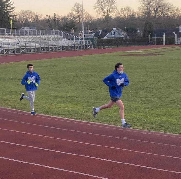 Winter track sprints into first school season