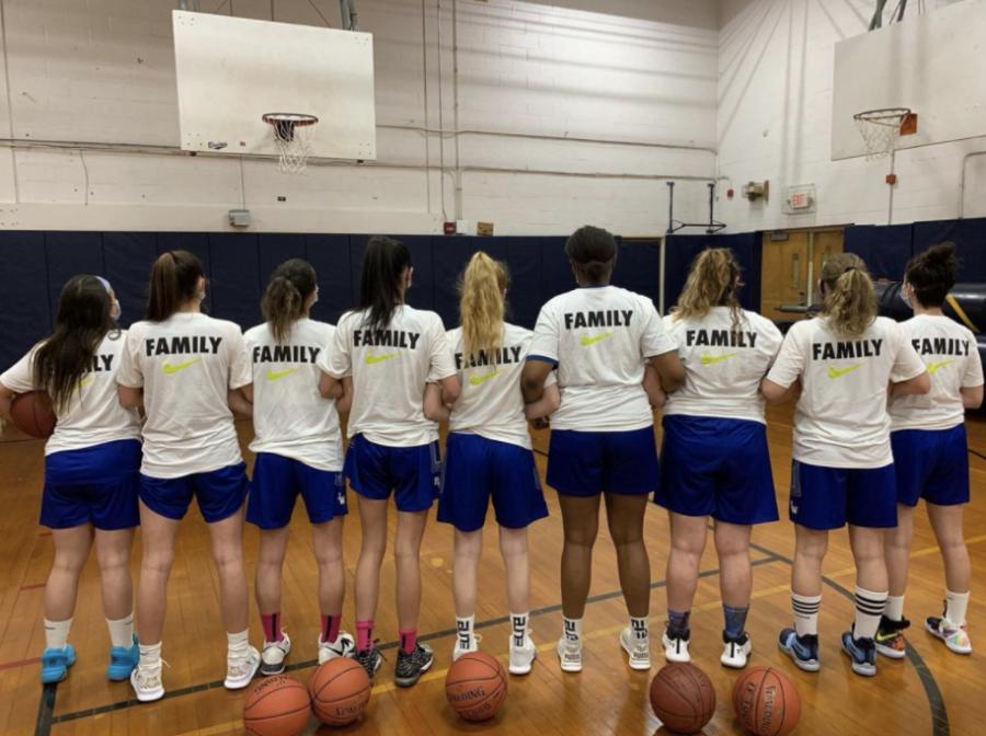 Girls varsity basketball has a successful season