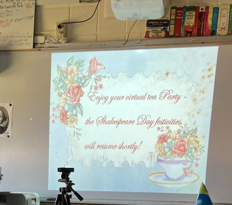 To Zoom or not to Zoom? Schreiber hosts virtual Shakespeare Day