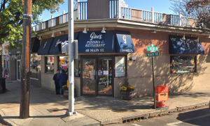 Law and Order filmed at Port Washington local pizzeria, Gino's