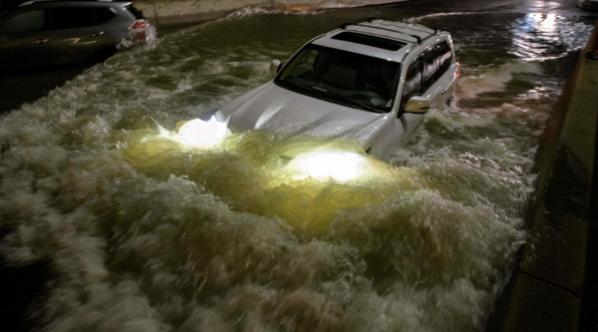 Hurricane Ida Causes Local Damage