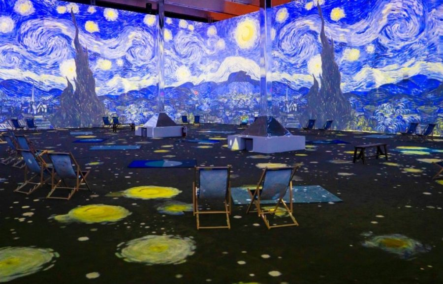 Van Gogh exhibits in New York City , A New Take on Art